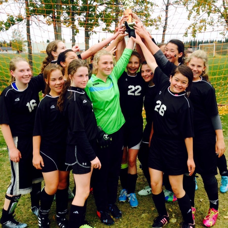 15 MS Girls Soccer 3rd place