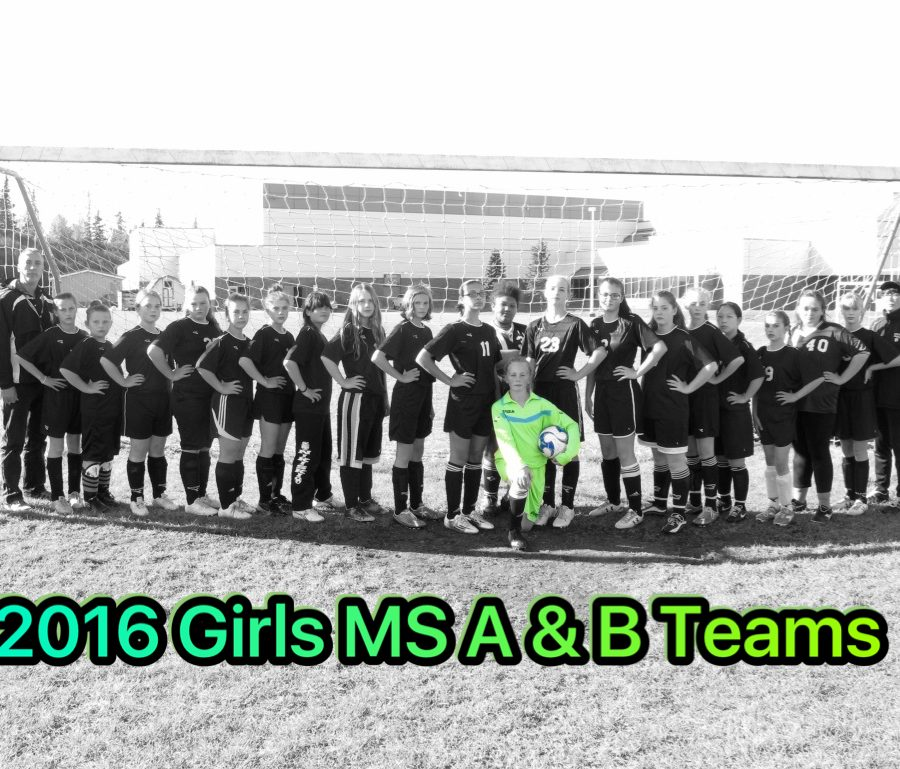 2016 Girls MS A and B Teams