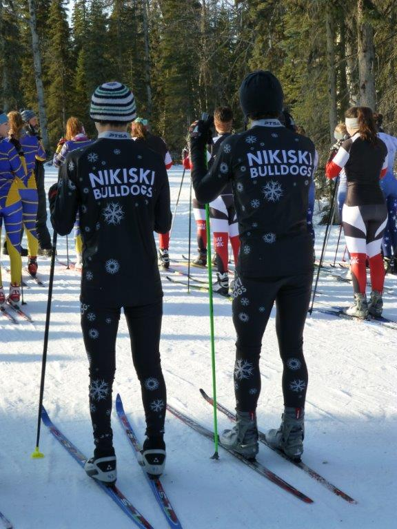 Kyle and Matthew in new ski uniforms (2)